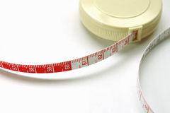 Measure tape. With point at 60 centimeter Stock Photography