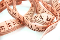 Measure tape #2 royalty free stock photos