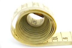 Measure tape #4 stock images