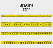 Measure tape and dieting Royalty Free Stock Photography
