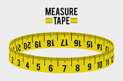 Measure tape and dieting Stock Photos