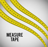 Measure tape and dieting Stock Photo