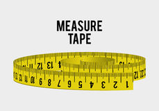 Measure tape and dieting Stock Images