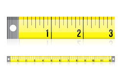 Measure tape illustration design Stock Photo