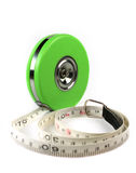 Measure tape isolated Royalty Free Stock Photo