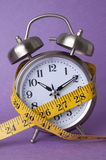 Measure of Time or Diet Royalty Free Stock Photography