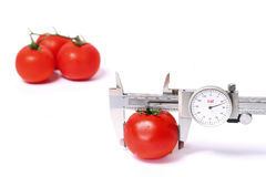 Measure to calorie Royalty Free Stock Images