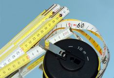 Measure tools Stock Images