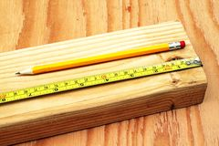 Measure Twice Royalty Free Stock Images