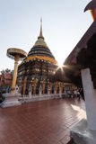 Measured as a tourist attraction in Lampang Royalty Free Stock Image