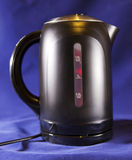 Measured mark water level of the electric kettle close up Stock Photography