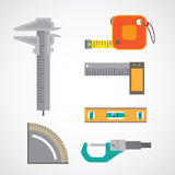 Measurement icon Stock Image