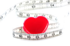 Measurement of Love stock photo