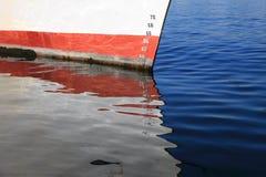Measurement  meter nautical naval waterline Royalty Free Stock Photos