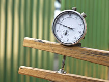 Measurement tool for handicraft. Precision measurement tool for handicraft Royalty Free Stock Photo