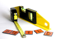 Measurement tools Royalty Free Stock Photo