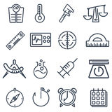 Measurement tools pack Stock Photo