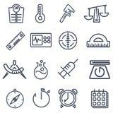 Measurement tools pack Stock Photo