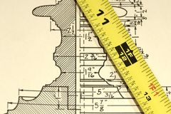 Measurements Stock Photo