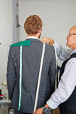 Measurements for Tailored Suit Royalty Free Stock Photos