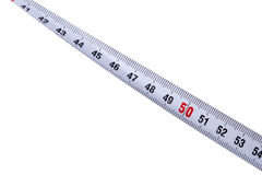 Measurer on white Royalty Free Stock Photos