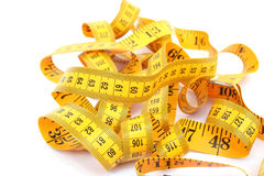 Measuretape photographie stock