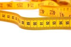 measuretape Arkivbild
