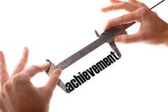 Measuring achievement Stock Photo