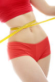 Measuring body Royalty Free Stock Photos