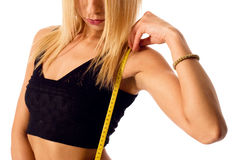 Measuring body Royalty Free Stock Images