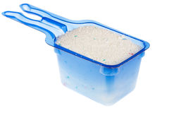 Measuring bowl with washing powder Stock Photography
