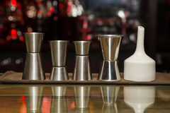 Measuring cup, bar Stock Image