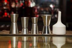 Measuring cup, bar Stock Image