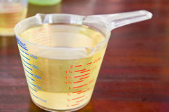 measuring cup Stock Photography