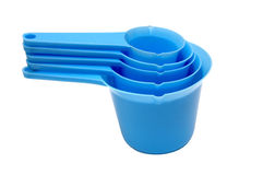 Measuring Cup Set. 5 Pieces Royalty Free Stock Photo