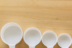 Measuring cup Stock Image