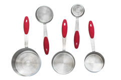 Measuring cups empty Stock Photography