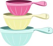 Measuring Cups Royalty Free Stock Photos