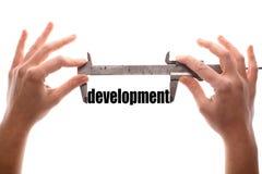 Measuring development Royalty Free Stock Image