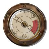 Measuring device. Ancient measuring device in the style of steampunk Royalty Free Stock Photos