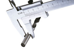 The measuring device calipers Stock Images