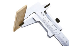 The measuring device calipers Royalty Free Stock Photo