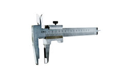 The measuring device calipers Royalty Free Stock Photography