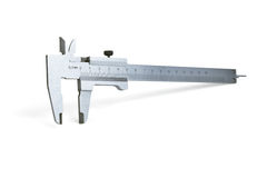 The measuring device calipers Stock Photography