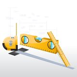 Measuring Equipment Royalty Free Stock Images