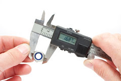 Measuring Equipment Digital Vernier Gauge Stock Photography