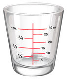 A measuring glass Royalty Free Stock Image