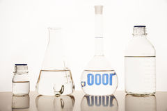 Measuring glasses Stock Photos