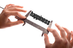 Measuring happiness Stock Images