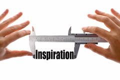 Measuring inspiration Stock Images